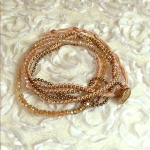Chloe + Isabel multi wrap bracelet